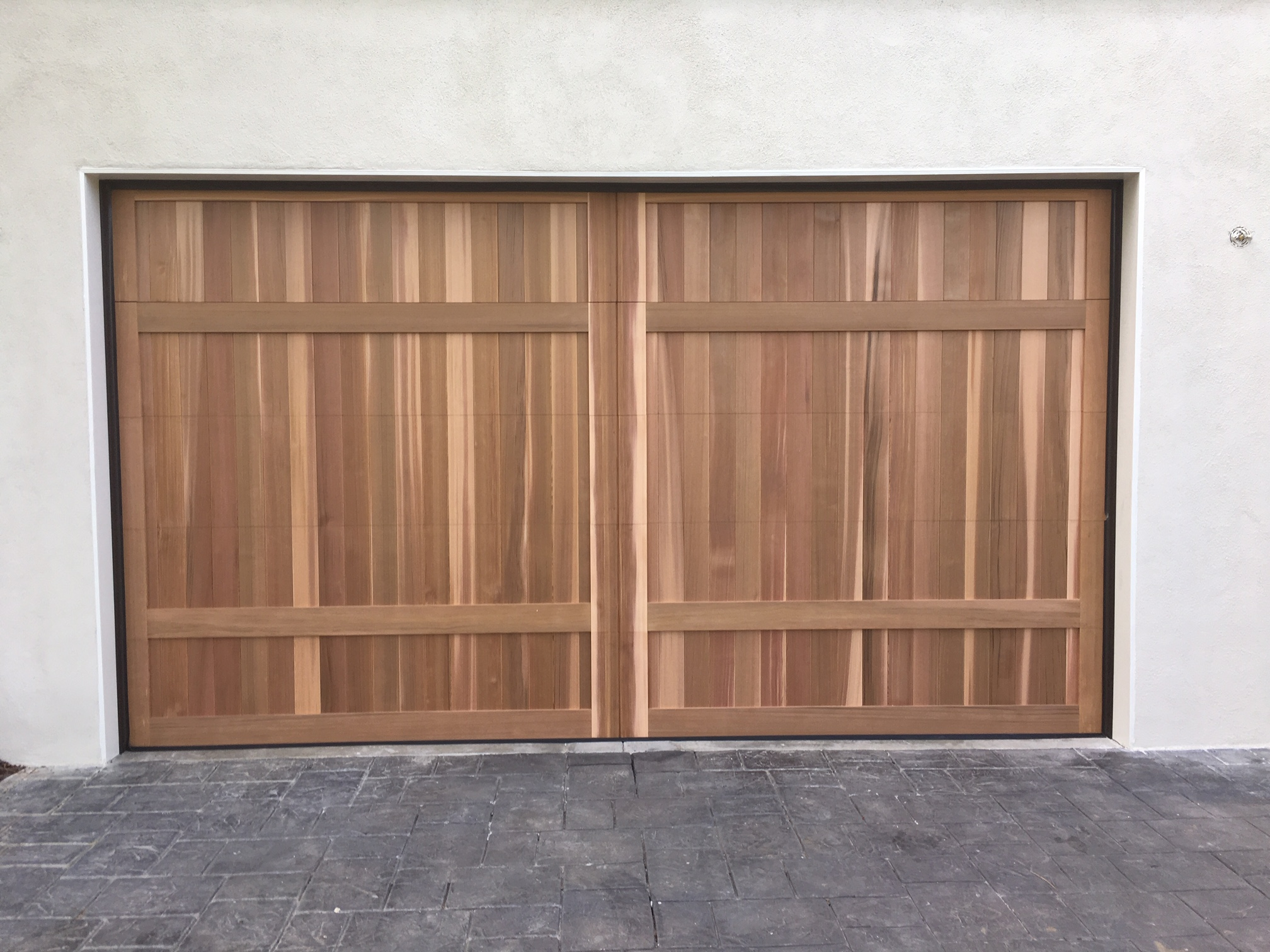 Craftsman Garage Door in Santa Monica California